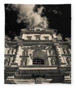Iglesia San Francisco - Antigua Guatemala Bnw I Fleece Blanket