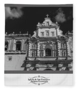 Iglesia San Francisco - Antigua Guatemala Bnw Fleece Blanket