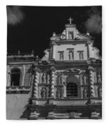 Iglesia San Francisco - Antigua Guatemala II Fleece Blanket