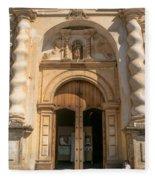 Iglesia San Francisco - Antigua Guatemala Viii Fleece Blanket
