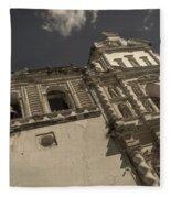 Iglesia San Francisco - Antigua Guatemala Xii Fleece Blanket
