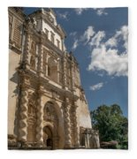 Iglesia San Francisco - Antigua Guatemala Xiii Fleece Blanket