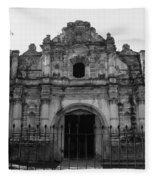 Iglesia San Jose El Viejo - Antigua Guatemala Bnw Fleece Blanket