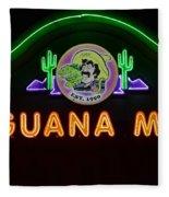 Iguana Mia Fleece Blanket
