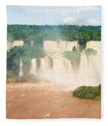 Iguazu Falls 2 Fleece Blanket