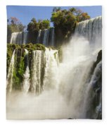 Iguazu Falls Fleece Blanket
