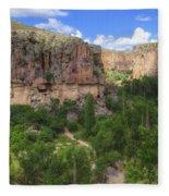 Ihlara Valley - Turkey Fleece Blanket