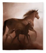 Il Cavallino Fleece Blanket