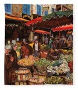 Il Mercato Di Quartiere Fleece Blanket