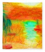 Ilhabela Fleece Blanket