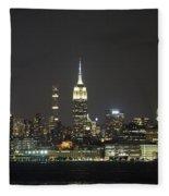 I'll Have A Manhattan To Go Fleece Blanket
