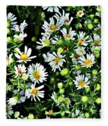 Illinois Wildflowers 1 Fleece Blanket