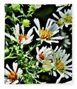 Illinois Wildflowers 3 Fleece Blanket