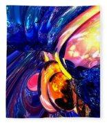 Illuminate Abstract  Fleece Blanket