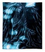 Illuminate Your Essence Fleece Blanket