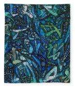 Illuminated Blue Fleece Blanket