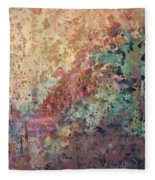 Illuminated Valley II Diptych Fleece Blanket