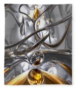 Illusions Abstract Fleece Blanket
