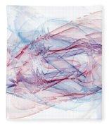 Illusions In Flights Of Mind Fleece Blanket
