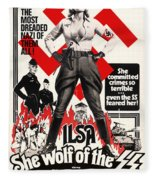 Ilsa - She Wolf Of The Ss 1975 Fleece Blanket