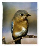 I'm A Bluebird Fleece Blanket