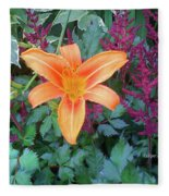 Image Included In Queen The Novel - Late Summer Blooming In Vermont 23of74 Enhanced Fleece Blanket
