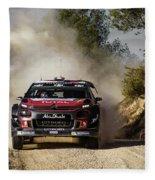 imagejunky_KB - RallyRACC WRC Spain - Lefebvre / Patterson Fleece Blanket