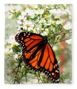 Img_5284-001 - Butterfly Fleece Blanket