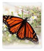 Img_5290-004 - Butterfly Fleece Blanket