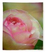 Imitation Love - Paper Rose Fleece Blanket