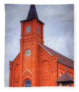 Immaculate Conception Catholic Church Fleece Blanket