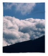 Imminent Judgment - San Rafael Mountains Fleece Blanket