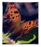 Imperfect Satyr Comma Fleece Blanket