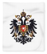 Imperial Coat Of Arms Of The Empire Of Austria-hungary 1815 Transparent Fleece Blanket