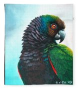 Imperial Parrot Fleece Blanket