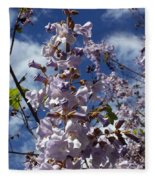 Imperial Tree Flowers Fleece Blanket