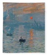 Impression Sunrise Fleece Blanket