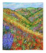 Impressionism- Flowers- Dreaming Of Spring Fleece Blanket