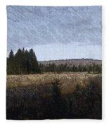Impressionist Meadow Fleece Blanket