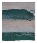 Impressionist Surfing  Fleece Blanket
