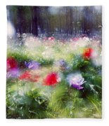 Impressionistic Photography At Meggido 2 Fleece Blanket