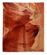 Impressions Of Antelope Canyon 1 Fleece Blanket