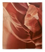 Impressions Of Antelope Canyon 2 Fleece Blanket
