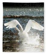 In A Splash Fleece Blanket