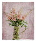 In A Vase Fleece Blanket