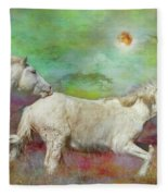 In Another Time Another Place... Fleece Blanket