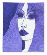 In Blue Colour Fleece Blanket