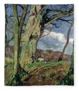 In Early Spring Fleece Blanket