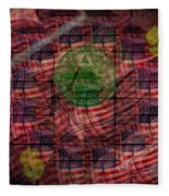 In God We Trust All Others Pay Cash Fleece Blanket