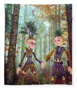 In Harmony With Nature Fleece Blanket